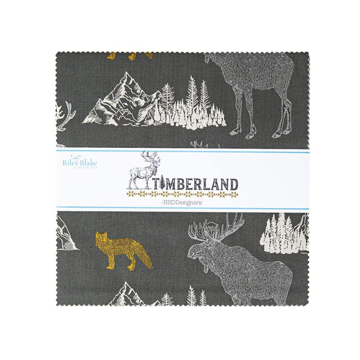 Riley Blake Layer Cake - Timberland by RBD Designers