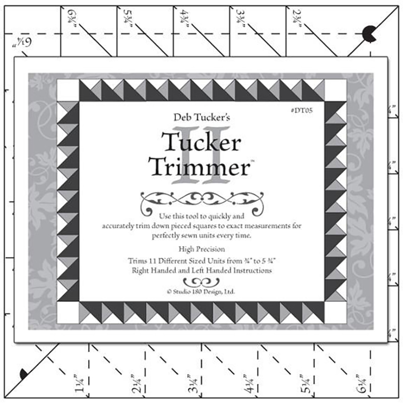 Tucker Trimmer II Ruler
