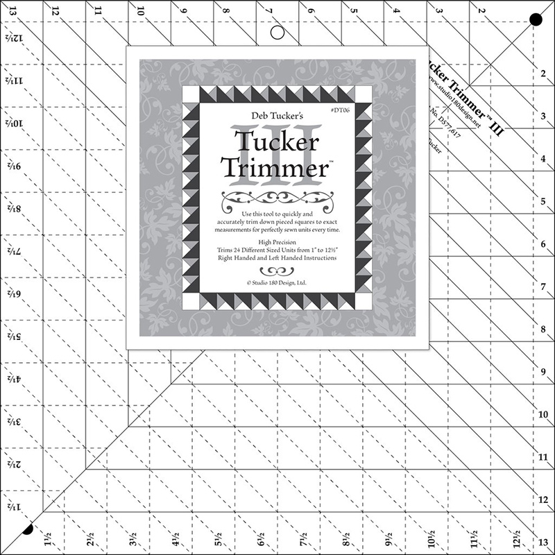 Tucker Trimmer III Ruler