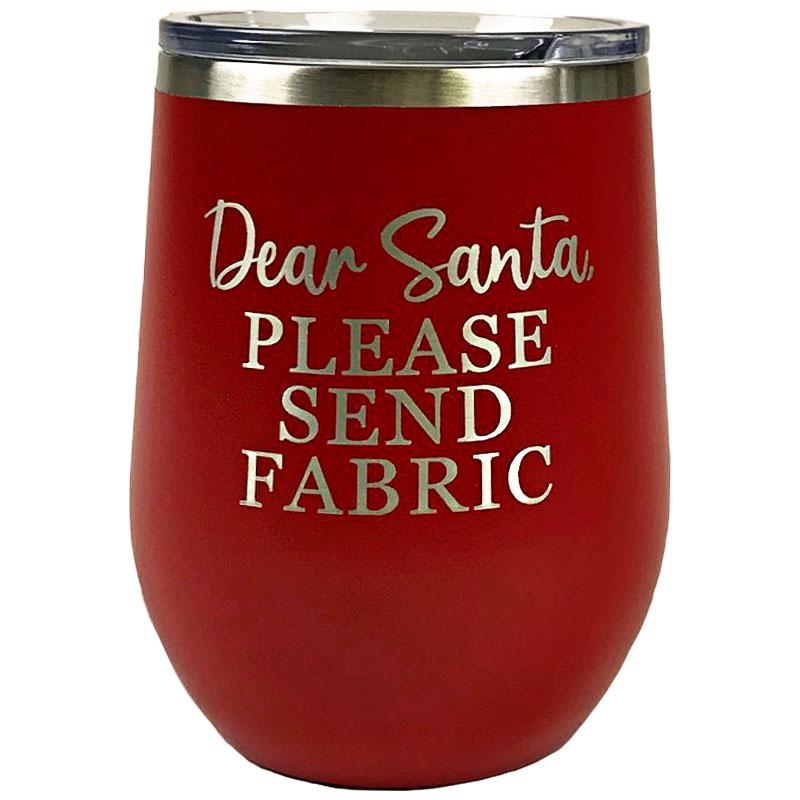 Tumbler Red Dear Santa