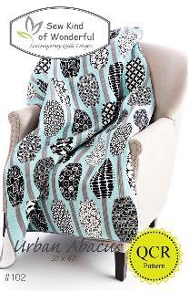 Urban Abacus Quilt Pattern by Jenny Pedigo