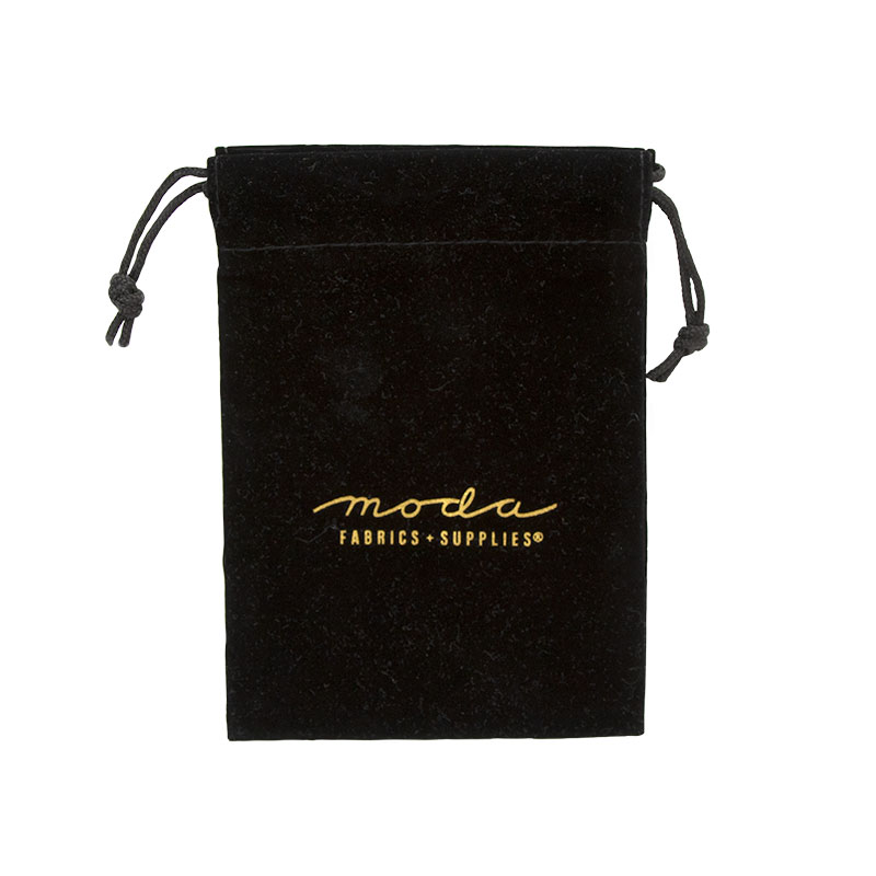Velvet Bag With Logo