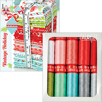 Vintage Holiday Collection 50wt Aurifil