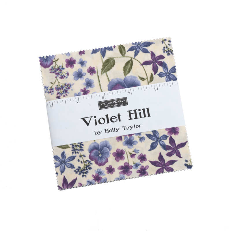 Moda Charm Pack - Violet Hill by Holly Taylor