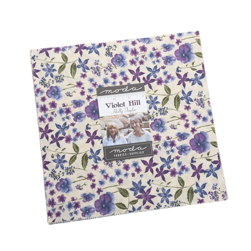 Moda Layer Cake - Violet Hill by Holly Taylor