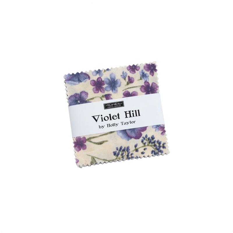 Moda Mini Charm - Violet Hill by Holly Taylor