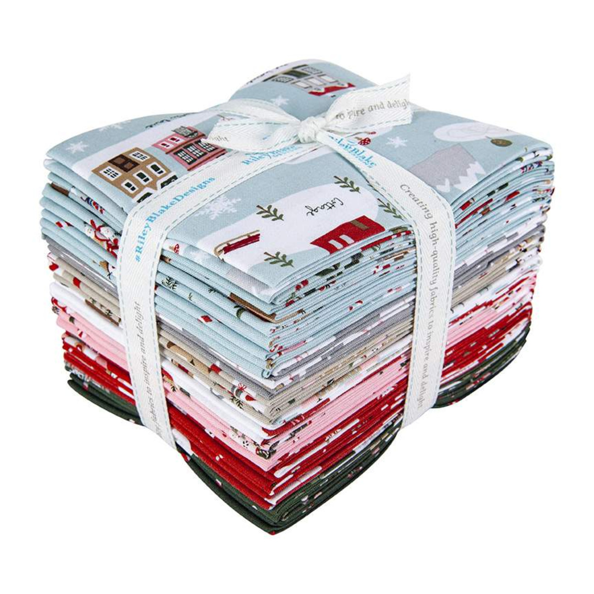 Riley Blake Fat Quarter Bundle - Warm Wishes by Simple Simon and Company