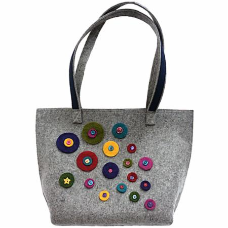 WFW Challenge Carry All Tote Bag Kit Wooly Felted Wonders