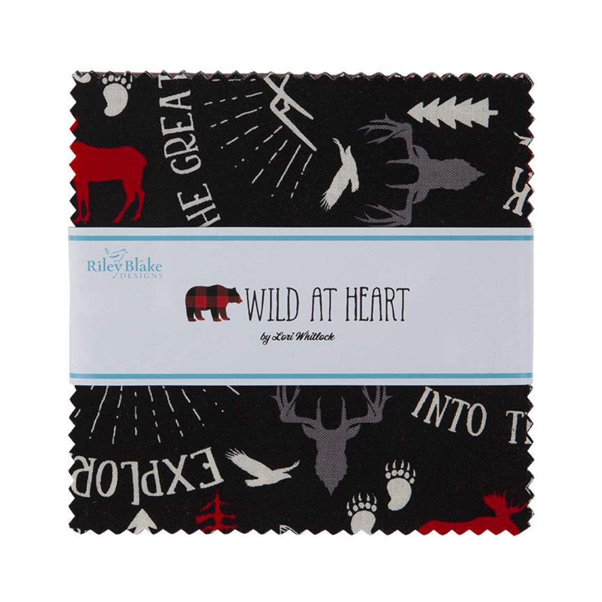 Riley Blake Charm Pack - Wild at Heart