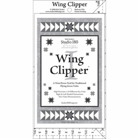 Wing Clipper Ruler
