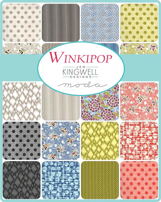 Moda Jelly Roll - Winkipop by Jen Kingwell