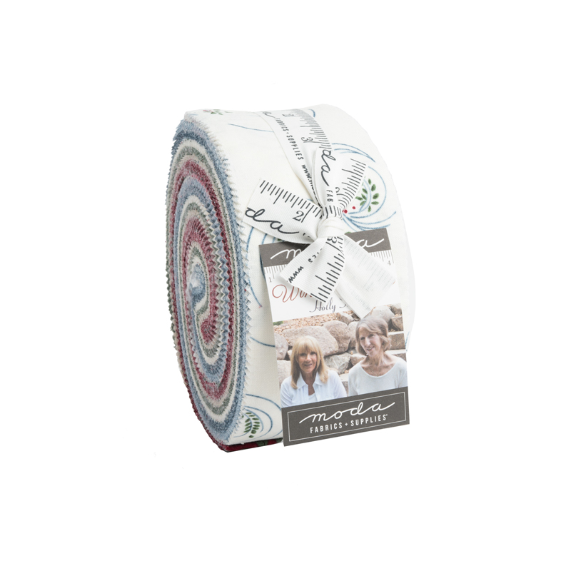 Moda Jelly Roll - Winter White by Holly Taylor