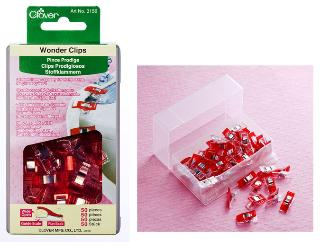 Clover Wonder Clips 50ct