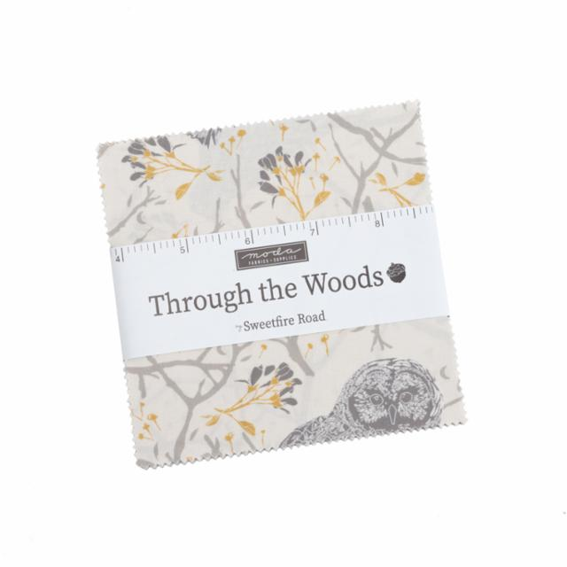 Moda Charm Pack - Through The Woods by Sweetfire Road