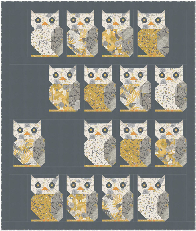 Moda Quilt Kit - Through The Woods by Sweetfire Road