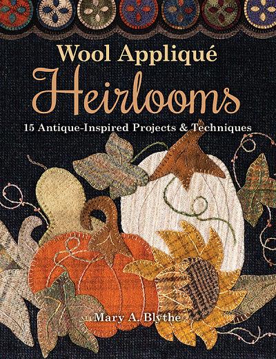 Wool Applique Heirlooms Book
