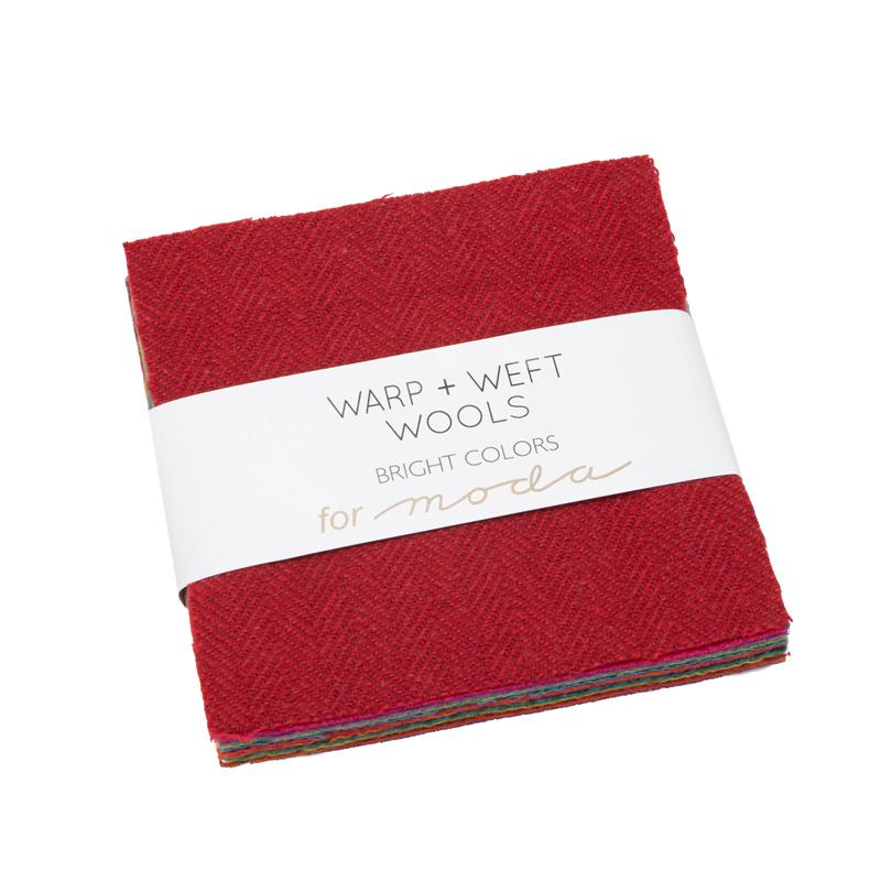 Moda Charm Pack - Wool Bright by Moda