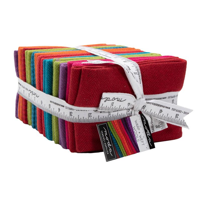 Moda Fat Quarter Bundle - Wool Bright
