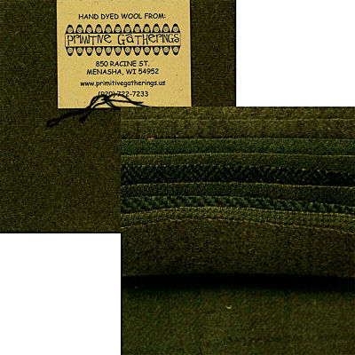 Moda Charm Pack - Wool Holly by Primitive Gatherings
