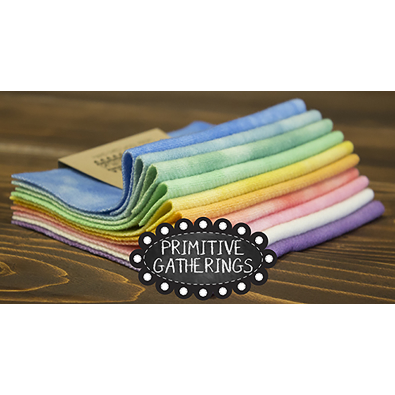 Moda Charm Pack - Wool Pastel 2 by Primitive Gatherings