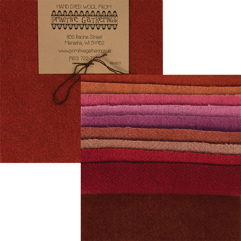 Moda Charm Pack - Wool Primitive 3 by Primitive Gatherings