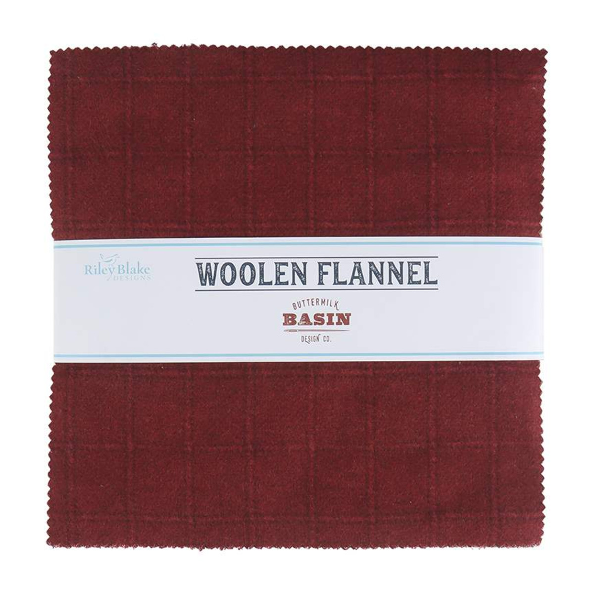 Riley Blake Layer Cake - Woolen Flannel by Stacy West