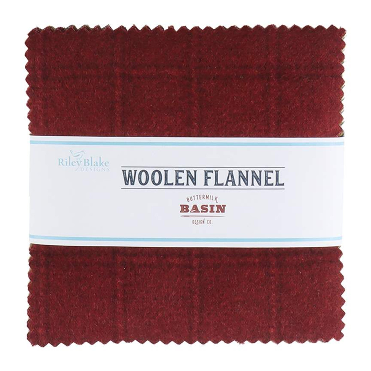 Riley Blake Charm Pack - Woolen Flannel by Stacy West