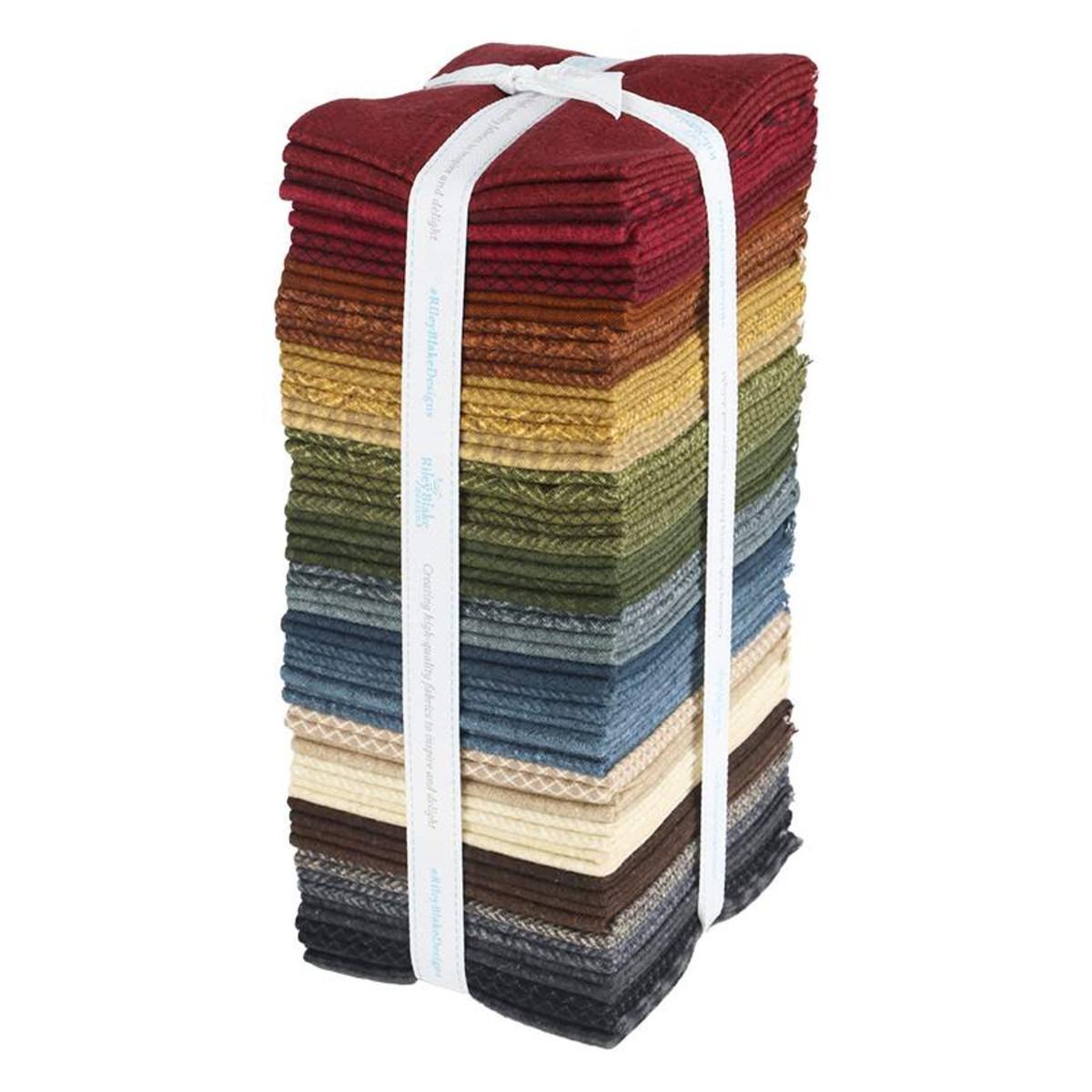 Riley Blake Fat Quarter Bundle - Woolen Flannel by Stacy West