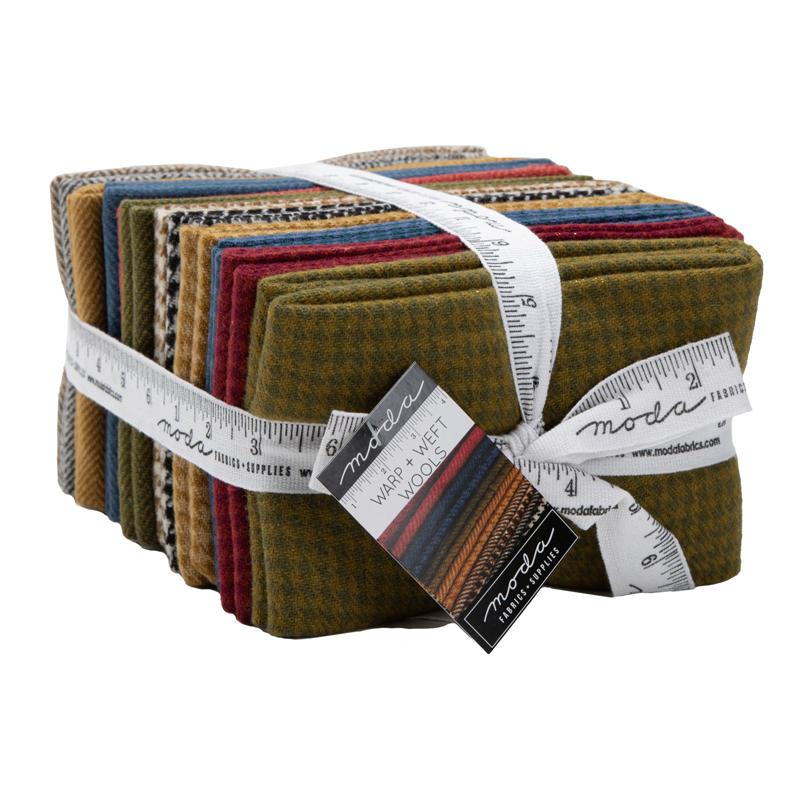 Moda Fat Quarter Bundle - Wool Warm