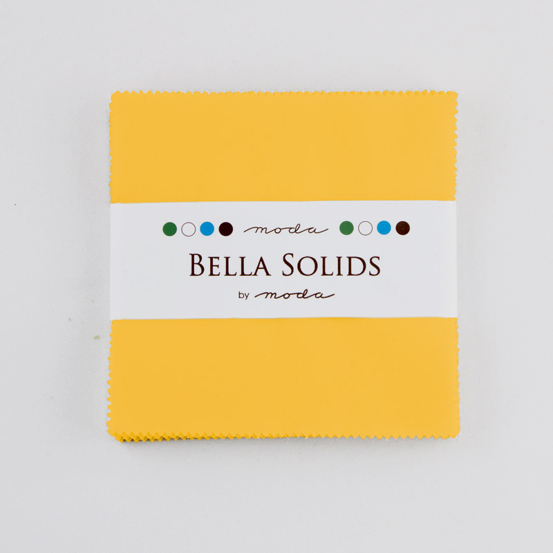 Solids Charm Pack - Yellow 9900 24S