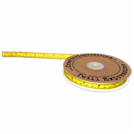 Tape Measure Twill Yellow 25 Yards