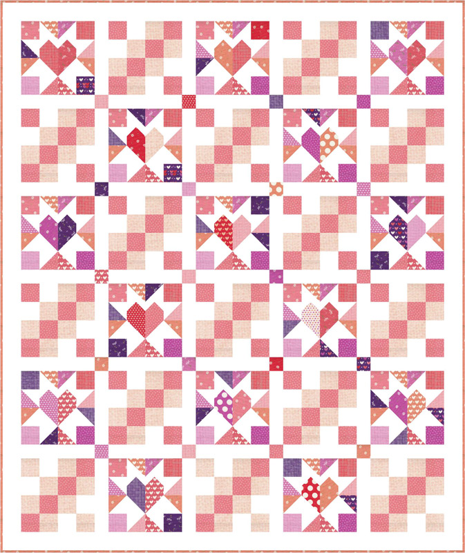 Moda Quilt Kit - Sincerely Yours by Sherri & Chelsi
