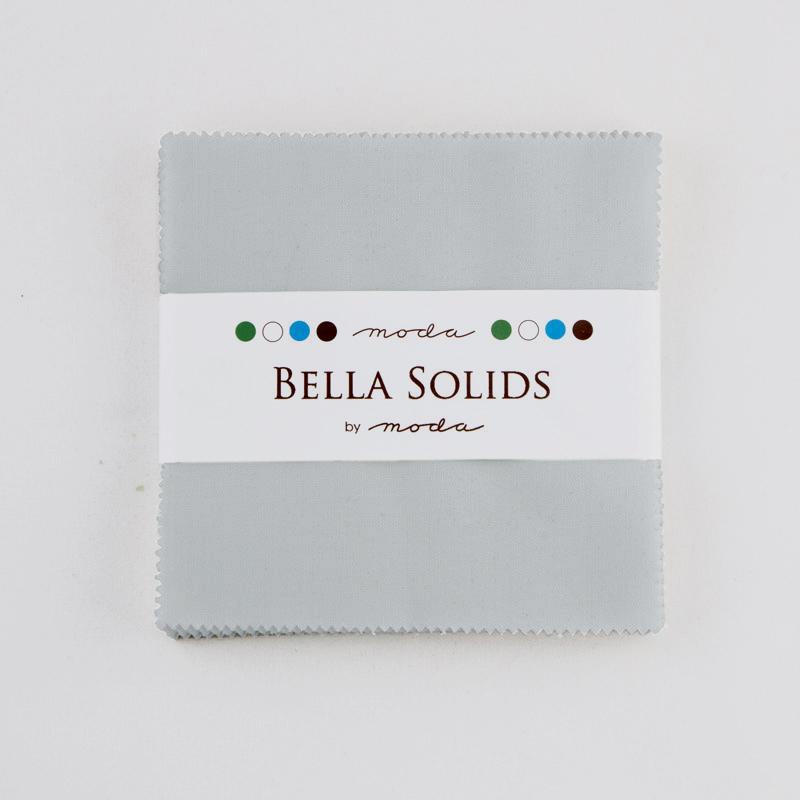 Solids Charm Pack - Zen Grey 9900 185