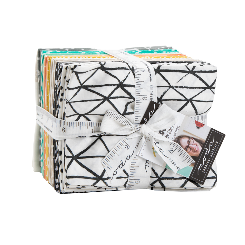 Moda Fat Quarter Bundle - Zoology by Gingiber