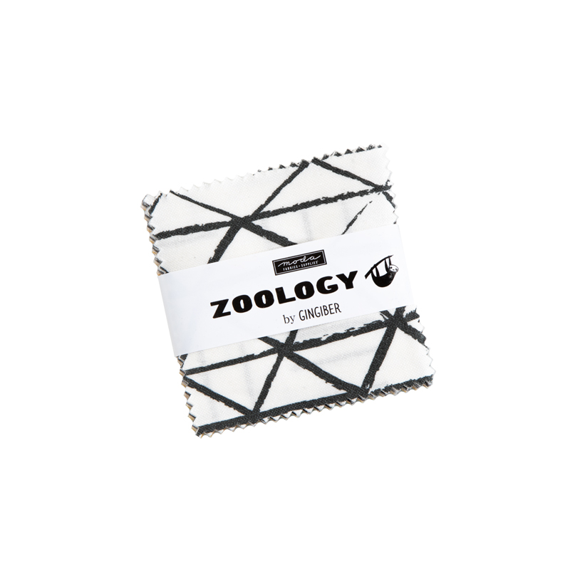 Moda Mini Charm - Zoology by Gingiber
